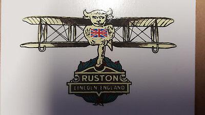 Ruston Propeller Decals Water Slide Type just like the originals WW1