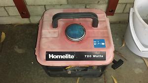 Homelite 720 watt generator. Koondoola Wanneroo Area Preview