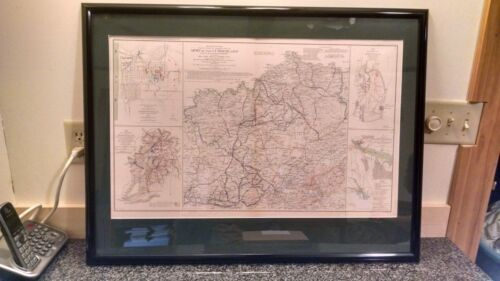Original Official Records of the Rebellion : Map 24 - Army of the Cumberland