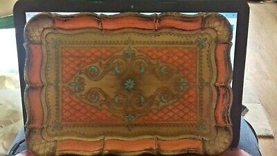 vintage Florentina tray