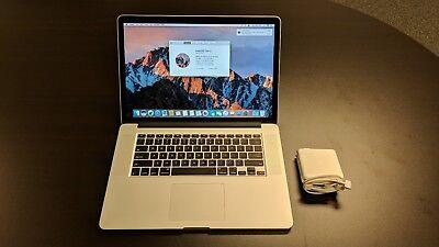"""2014 MacBook Pro 15"""" Retina i7 16GB 512GB SSD"""