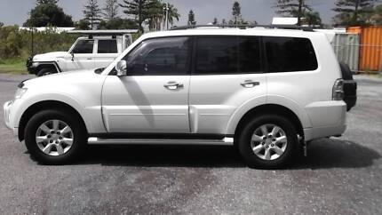 Mitsubishi pajero platinum edition