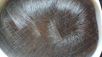 New Jon Renau Mono Hair Piece Long #5317 Color: 4 Jon Renau Hairpieces