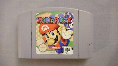 Jeu Game Mario Party pour console Nintendo 64 N64 version PAL fonctionne