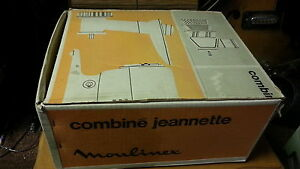 Combine jeanette moulinex