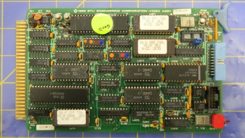 Bruce 3161524 Video Assy., PCB Assembly, Working When Removed