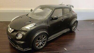 AUTOart 77458 NISSAN JUKE R 2.0 1/18 MODEL CAR MATTE BLACK