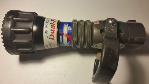 TFT Fire Hose Nozzle Dual-Force Dual Pressure 70-250 GPM Automatic