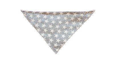 Babero bandana Quitababas Star Estrellas blancas