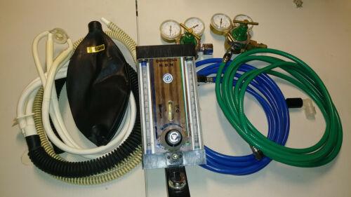 Fraser MDM Quantiflex Nitrous Conscious Sedation Flowmeter Regulators MATRX