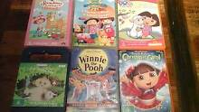 6 x Children's dvd's - DORA , IN THE NIGHT GARDEN, WINNIE POOH Dulwich Hill Marrickville Area Preview