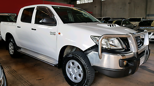 2012 TOYOTA HILUX SR DIESEL **AUTO** 4x4 DUAL CAB Murarrie Brisbane South East Preview