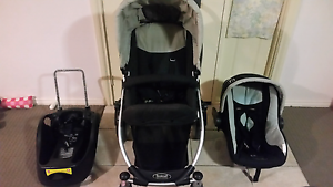 Steelcraft Cruiser pram  and capsule travel system Bolwarra Heights Maitland Area Preview