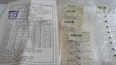 Ai201v Qty5 Ga-as Switching Tunnel Diode Military Ussr