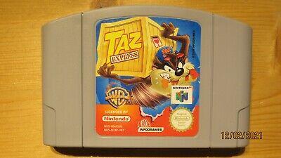 Taz Express for Nintendo 64 N64. Cart Only. Pal