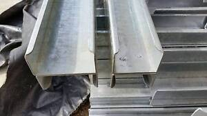 Galvanised H steel brackets for retaining walls Thomastown Whittlesea Area Preview