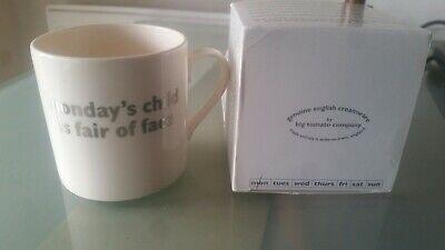 Christening Christmas Gift BIG TOMATO COMPANY MONDAYS  Child MUG Boxed NEW](Big Christmas Gift Boxes)