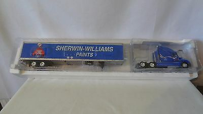 Sherwin Williams Paint Co  Cover The Earth Die Cast Truck And Trailer  J113