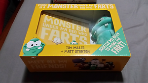 There is a monster under my bed who farts book and plush toy set Thornlie Gosnells Area Preview