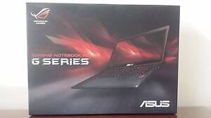 "ASUS G501J 15.6"" Gaming laptop GTX960M Southport Gold Coast City Preview"