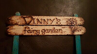 Fairy Garden Personalised Sign
