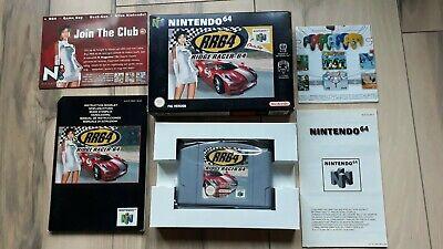 Ridge Racer 64 Nintendo 64 N64 PAL Complete in Box CIB Very Good Condition
