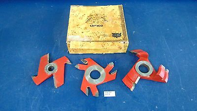 Lot Of 3 Freud Raised Panel Cutters Up160 Uc202 1 Unmarked Barely Used S2318x
