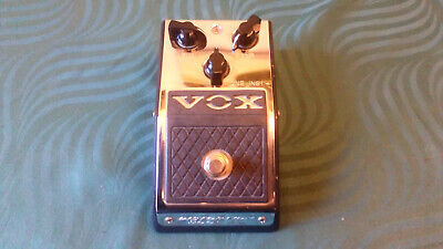 Vox V830 Distortion Booster Effect Pedal -->Great drive effect