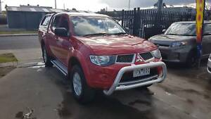 2013 Mitsubishi Triton GLR Duel Cab Ute TD AUTO LOW KMS 4X4 Williamstown North Hobsons Bay Area Preview