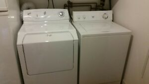 Washer and dryer laundry pair