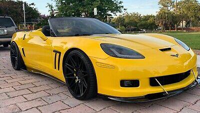 2011 Yellow Chevrolet Corvette     C6 Corvette Photo 1
