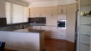 Laminate kitchen with granite bench top Five Dock Canada Bay Area Preview