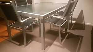 Glass Dinning Table Out Door Setting Surfers Paradise Gold Coast City Preview