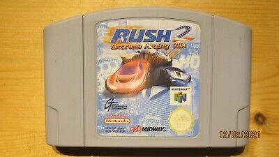Rush 2 Extreme Racing USA for Nintendo 64 N64. Cart Only. Pal