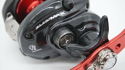 Abu Garcia Black Max Baitcasting Reel with 5 ball bearings very smooth segunda mano  Embacar hacia Argentina