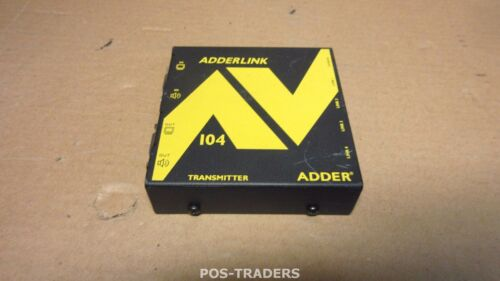 Adder ALAV104T Quad Full HD VGA Extender Transmitter+Audio EXCL PSU & CABLES