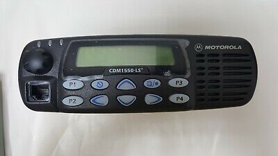 Motorola Cdm1550 Ls Aam25sk9dp6an Used