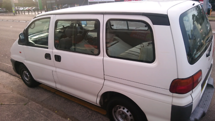 Mitsubishi Starwagon Automatic low kms long rego van