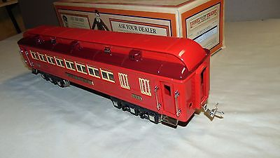 LIONEL STANDARD GAUGE 11-40070 RED COMET MELLISH PASSENGER CAR WITH ORIGINAL BOX