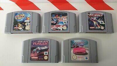 Nintendo N64 Re Volt & Cruis´n USA & TopGear Rally & SCARS & MRC