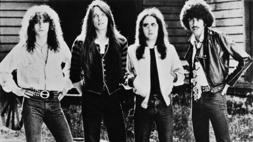 "THIN LIZZY -Phil Lynott rare 8x10"" photo!! Too cool!!"