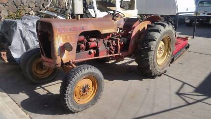 David Brown Tractor and Slasher