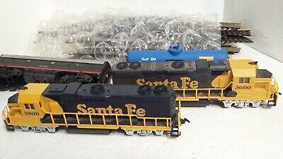 HO Scale Trains, mixed set,