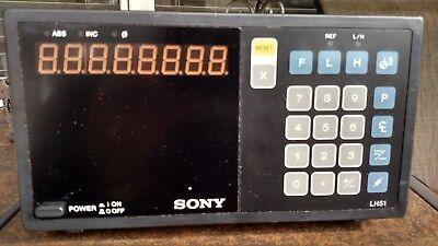 Sony Lh51-1 U7 Single Axis Digital Readout