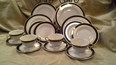 PICKARD China WASHINGTON tea Cup, Saucer,salad, bread & butter plates 16 pc set
