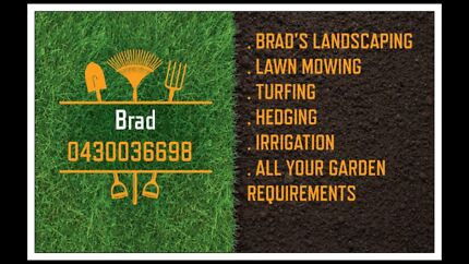 Mowing lawns and gardening from $40 super cheap