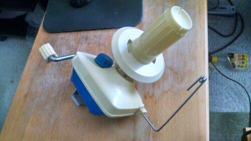 Yarn Ball Winder - Weaving Accessory  Blue