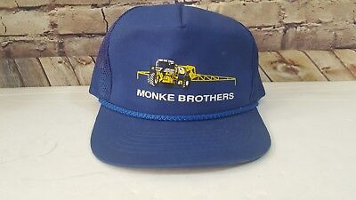 Monke Brothers Bros Trucker Hat Fertilizer Company - Trucking - Farm Advertising