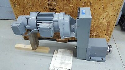 Russell T. Gilman Precision Spindle 2750f-01-b-spg Powered Electric Gear Drive