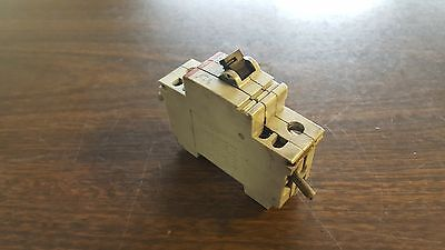 ABB Circuit Breaker S261-B10 / S261 / B10, 10A, 1 Pole, w/ Aux Contact, Used